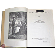 Hard Times By Charles Dickens, Hardback, Ex Library, circa 1950's