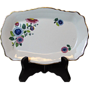 Old Foley Vanity Dish by James Kent Ltd. of Staffordshire England with Floral Pattern