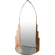 Vintage Art Deco Period Mirror, Display Stand