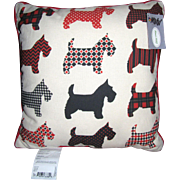 American Made Terrier Pillow by MWW