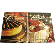 The Spirit of Christmas Cookbook 2 Volume Set, HC, Like New