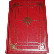 Barchester Towers by Anthony Trollope, The Franklin Library, Leather, Mint
