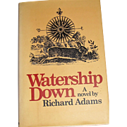 Watership Down, 1st American Edition by Richard Adams, unknown printing, copyright 1974 HCDJ, Near Mint