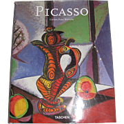 Pablo Picasso 1881-1973 Carsten-Peter Warncke, easton press HCDJ