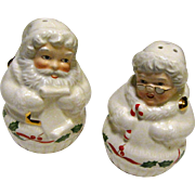 Lenox Holiday Santa And Mrs Claus Salt & Pepper Set