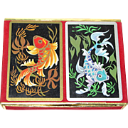 Congress Cel-U-Tone Playing Cards Exotic Fish