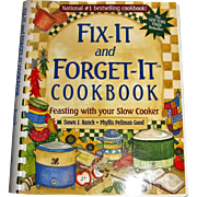 "Fix-It and Forget-It Cookbook Feasting with Your Slow Cooker Recipes, NY Times ""Bestseller"" by Dawn J. Ranck, & Phyllis Pellman, Like New"