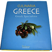 Culinaria Greece: Greek Specialties by Marianthi Milona, HCDJ, Near New