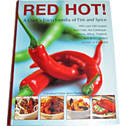 Red Hot!: a Cook's Encyclopedia of Fire and Spice by Jenni Fleetwood Paperba, Like New