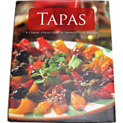 Tapas: A Classic Collection of Spanish Style Recipes HCDJ, Like New