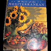 A Taste of the Mediterranean by Jacqueline Clark, HCDJ, 1st Edition, Like New