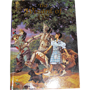 The Wizard of Oz by L. Frank Baum (Illustrated Junior Library), HC, Like New