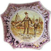 1940s Dicken's David Copperfield Dish, Lancasters Ltd, England