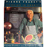 Pierre Franey's Cooking In America, HCDJ, Like New