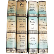 Four 3-in-1 Detective Book Club Books - The Beautiful Dead, The Thirteenth Trick, Jet Stream, Deadly Trap, Wait for What Will Come, The Last Sherlock Holmes Story, Death Sentence, The Barclay Place, Mortal Stakes, Time of Terror, How to Live Dangerou