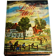 Little Men by Louisa May Alcott, Illustrated Junior Library, 1947, HCDJ, Mint