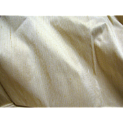 """43"""" Section of Striped Vintage Silk Faille, Perfect for Doll Dresses"""
