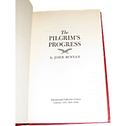 The Pilgrim's Progress by John Bunyan - International Collectors Library (HC), Like New