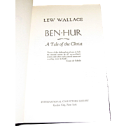 Ben Hur by Lew Wallace, International Collector's Library
