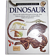 Dinosaur - Eyewitness Books, HC, 1989 1st American Edition, Children's Book, Like New