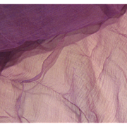 Antique Mauve Tissue Silk for Doll Costumes