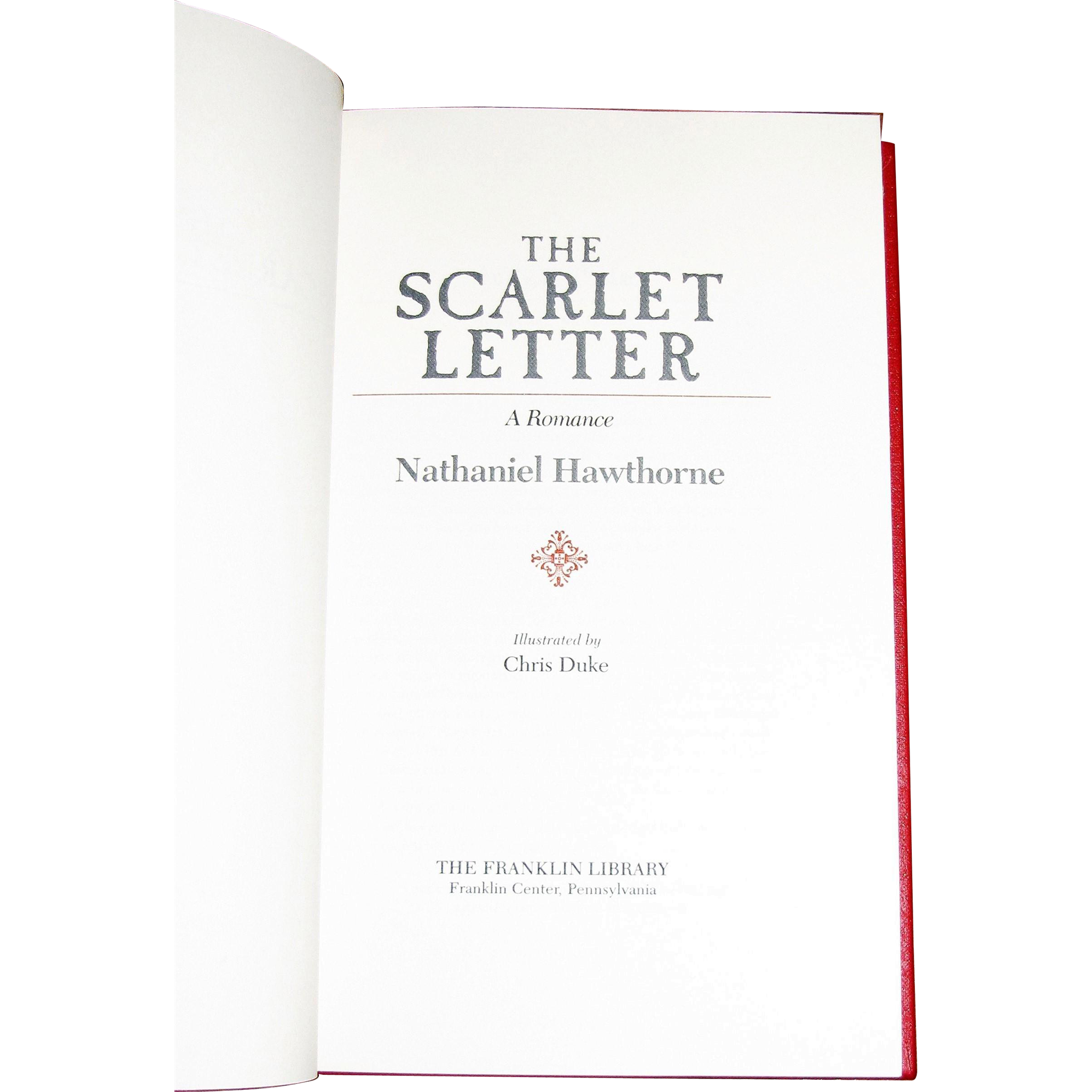 the great sin committed in nathaniel hawthornes novel the scarlet letter The scarlet letter rightly deserves its stature as the first great novel nathaniel hawthorne's the scarlet letter committed an unforgivable sin.