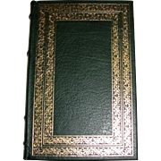 """""""Fathers And Sons"""" by Ivan Turgenev, Franklin Library 1983, Full Leather Bound"""