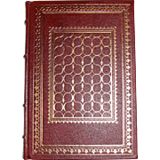 Short Stories by Saki (H.H. Munro) - The Franklin Library 1982 Limited Edition, Leather Bound, World's Greatest Writers, Like New