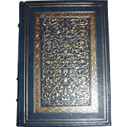 "Alfred Lord Tennyson, ""In Memoriam and Other Poems"" Franklin Library,1984 Leather Bound, Limited Edition, Like New"