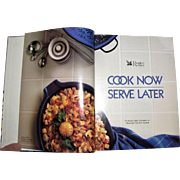 Cook Now Serve Later by Reader's Digest, Hardback, Like New