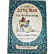 Little Bear by Else Holmelund Minarik (I Can Read Series) 1957, 1st Edition, Beautifully Illustrated Ideal for 4 to 8 year old's