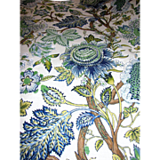 "92"" Large Scale Botanical 12 Color Screen Print by Robert Allen"