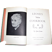 1967, Leone's Italian Cookbook by Gene Leone, Foreword by Dwight D. Eisenhower, Harper and Row, 1st Edition HC