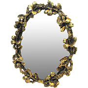 """Ornate Ormolu 5"""" Easel Dressing Mirror for Fashion Doll"""