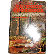 The Complete Outdoor Cookbook by Dan and Inez Morris, HCDJ, 1970, 1st Edition