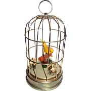 Small Bird in Cage Automaton for Doll Display!