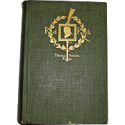 1898, Red Rock: A Chronicle of Reconstruction by Thomas Nelson Page, Hardcover, 1st Edition
