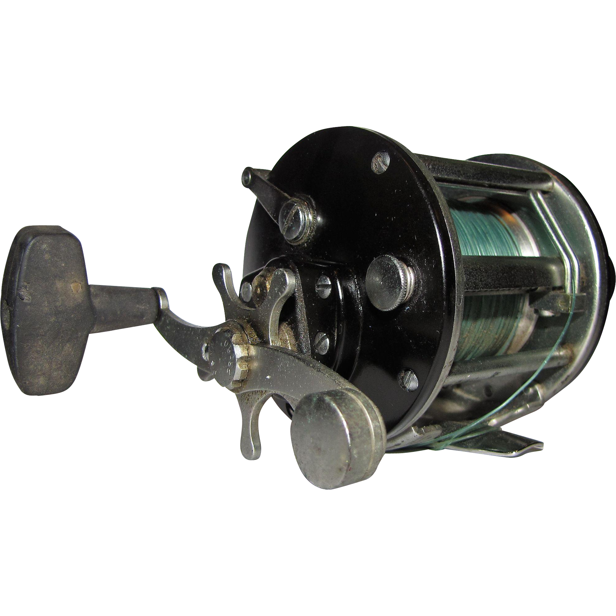 Penn 209 level wind fishing reel made in usa fay wray for American made fishing reels