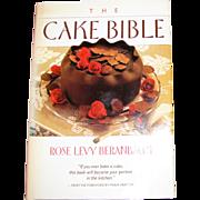 Harris, The Cake Bible by Rose Levy Beranbaum, HCDJ, 1988, 1st Edition, Nearly New