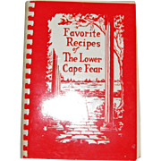 Harris, Favorite Recipes of The Lower Cape Fear (Wilmington, NC) Cookbook, 1964 1st revised printing 5th actual printing.