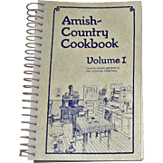 Harris, Amish Country Cookbook Volume I Gathered by Das Dutchman Essenhaus, 1979, Like New, illustrated, Cookbook