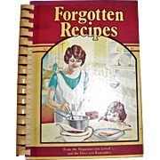 Harris, Forgotten Recipes: From the Magazines You Loved and the Days You Remember, 1981, 1st Edition, Nearly New, Cookbook