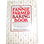 The Fannie Farmer Baking Cookbook by Marion Cunningham, 800 Superb Baking Recipes, HCDJ, 1984, Nearly New