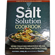 Harris, The Salt Solution Cookbook by Heather K. Jones, HC, Nearly New