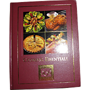 Cooking Essentials by Mary Berry & Marlena Spieler, First American Edition, Faux Leather, HC