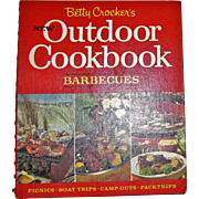 1967, Betty Crocker's New Outdoor Cookbook: Barbecues, Stated First Edition First Printing