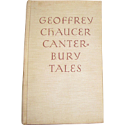 1934 Canterbury Tales by Geoffrey Chaucer, Illustrated by Rockwell Kent, Beautiful! HC