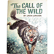 The Call of the Wild by Jack London, (1960), Illustrated by Robert L. Jenney, Whitman Classics, HC