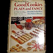 Harris, The Art of Making Good Cookies Plain & Fancy, Vintage Cookbook, Specialty Recipes, HCDJ