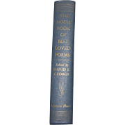 Harris, The Family Book of Best Loved Poems, Edited by David George, 1952 HC